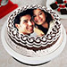 Personalized Cake of Love 2 Kg Black Forest Cake