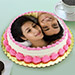 Personalized Cream Cake Eggless 2 Kg Butterscotch Cake