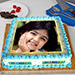 Radiant Photo Cake Eggless 3 Kg Vanilla Cake