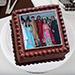 Square Photo Cake 1 Kg Black Forest Cake