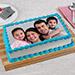 Tempting Photo Cake Eggless 3 Kg Black Forest Cake