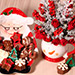 Ceramic Mug Flower Arrangement And Chocolates