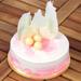 Sweet & Delicious Vanilla Eggless Cake- 1 Kg