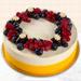 Yummy Vanilla Berry Delight Cake- Half Kg