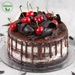Black Forest Vegan Cake- Half Kg