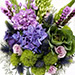 Roses and Hydrangea Mixed Flowers In Vase SG