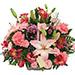 Basket Of Beautiful Flowers