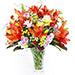 Radiant Lilies In Vase