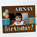 Birthday Time Personalized Frame