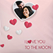 Love You To The Moon Cushion
