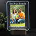 Personalized Light Up Led Glass Frame