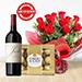 Red Wine Roses & Choco