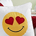 Smiling Hearts Pillow
