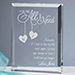 You're All I Need Personalized Keepsake